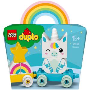 LEGO DUPLO My First: Unicorn Train Toy for Toddlers (10953)