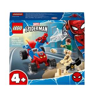 LEGO Marvel Spider-Man and Sandman Showdown Toy (76172)