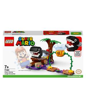 LEGO Super Mario: Chain Chomp Jungle Encounter Expansion Set (71381)