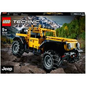 LEGO Technic: Jeep Wrangler Toy Car (42122)
