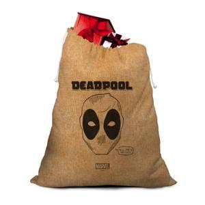 Deadpool Lazy Christmas Santa Sack