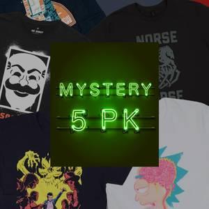 Mystery Kids' Geek T-Shirt - 5-Pack