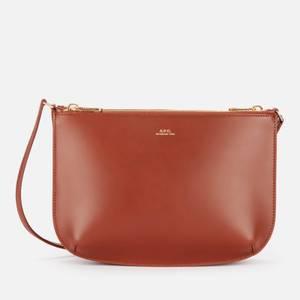 A.P.C. Women's Sarah Cross Body Bag - Hazelnut