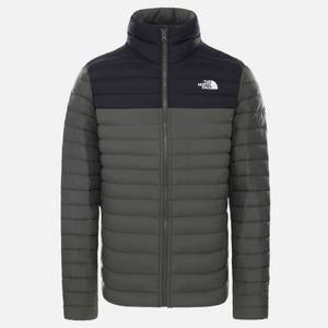 The North Face Men's Stretch Down Jacket - New Taupe Green/TNF Black