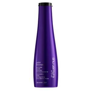 Shu Uemura Art of Hair Yubi Blonde Anti-Brass Purple Shampoo for Bleached, Highlighted Blonde Hair 300ml