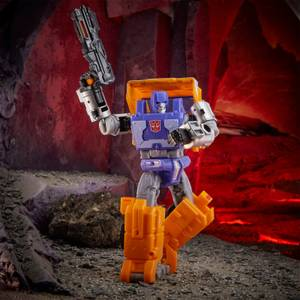 Hasbro Transformers Generations War for Cybertron: Kingdom Deluxe WFC-K16 Huffer Action Figure
