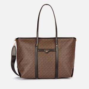 MICHAEL Michael Kors Women's Beck Large Tote Bag - Brown/Black