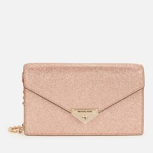 MICHAEL Michael Kors Women's Grace Medium Envelope Clutch - Rose Gold