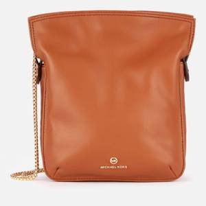 MICHAEL Michael Kors Women's Tati North South Chain Shoulder Bag - Luggage