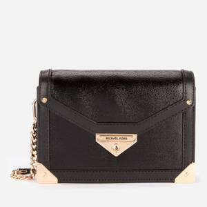 MICHAEL Michael Kors Women's Grace Small Trunk Cross Body Bag - Black