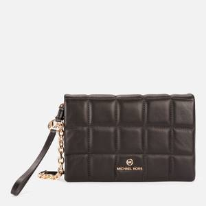MICHAEL Michael Kors Women's Jet Set Charm Small Double Pouch Cross Body Bag - Black