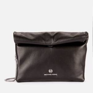 MICHAEL Michael Kors Women's Lola Small Lunch Bag Cross Body Bag - Black