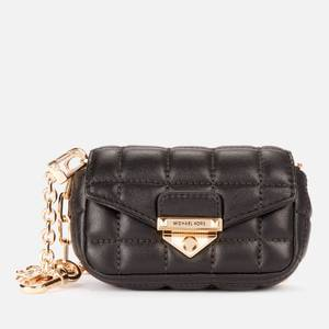 MICHAEL Michael Kors Women's Soho Xs Clip Bag Charm - Black