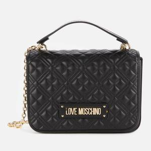 Love Moschino Women's Quilted Classic Bag - Black