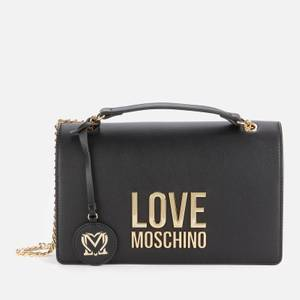 Love Moschino Women's Logo Shoulder Bag - Black