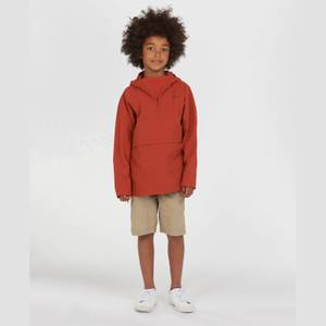 Barbour Boys' Alnot Half Zip Jacket - Sunset Orange