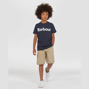 Barbour Boys' Logo T-Shirt - Navy