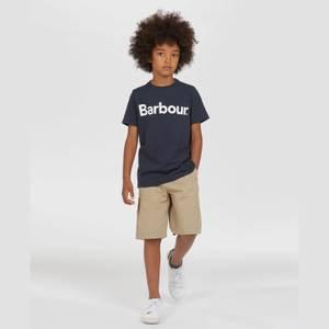 Barbour Boys' Logo T-Shirt - Navy