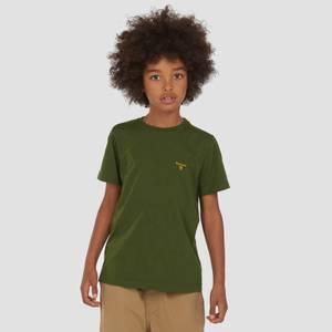Barbour Boys' Small Logo T-Shirt - Rifle Green
