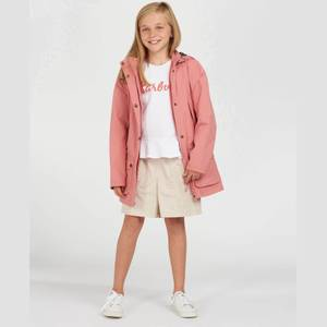 Barbour Girls' Clyde Waterproof Jacket - Vintage Rose