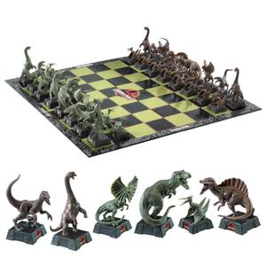 The Noble Collection Jurassic Park Chess Set