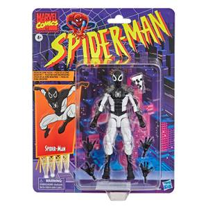 Figura de Acción Spider-Man Vintage Collection Negative Suit - Hasbro Marbel Legends