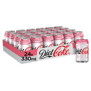 Diet Coke Twisted Strawberry 24 x 330ml