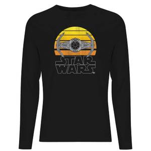 Star Wars Classic Sunset Tie Unisex Long Sleeve T-Shirt - Black