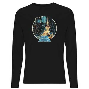 Star Wars Classic Vintage Victory Unisex Long Sleeve T-Shirt - Black