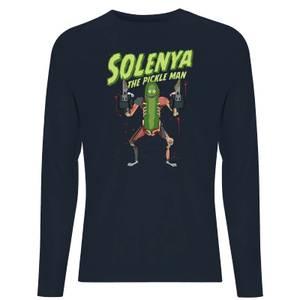 Rick and Morty Solenya Unisex Long Sleeve T-Shirt - Navy