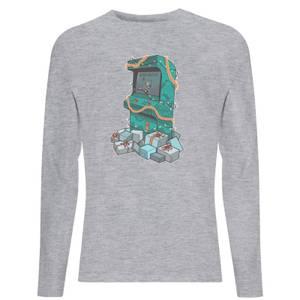 Arcade Tress Unisex Long Sleeve T-Shirt - Grey