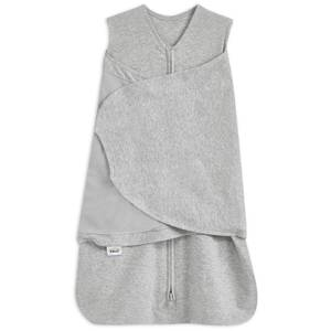 HALO SleepSack Swaddle 1.5 TOG 100% Cotton - Heather Grey