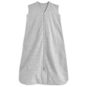 HALO SleepSack Sleeping Bag 0.5 TOG 100% Cotton - Heather Grey