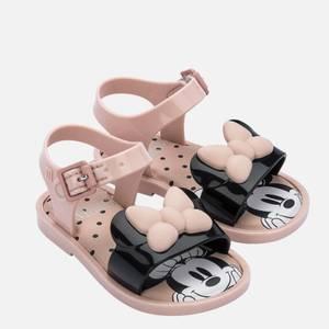 Mini Melissa Toddlers' Mini Disney Sandals - Pink Minnie