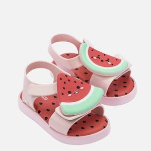 Mini Melissa Toddlers' Mini Jump Fruitland Sandals - Watermelon