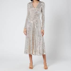 ROTATE Birger Christensen Women's Sierra Dress - Silver