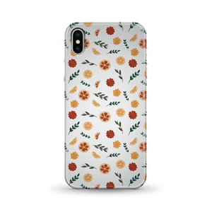 Floral Fruit White Background Phone Case for iPhone and Android