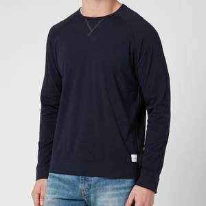 PS Paul Smith Men's Jersey Cotton Longsleeve Top - Inky
