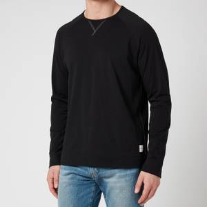 PS Paul Smith Men's Jersey Cotton Long Sleeve Top - Black