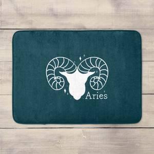 Navy Aries Bath Mat