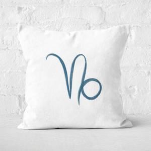 Capricorn Symbol Square Cushion