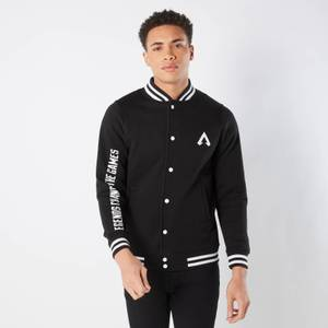 Apex Legends Unisex Varsity Jacket - Black / Black