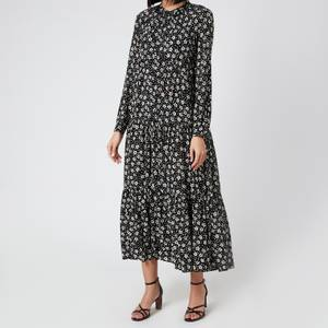 Whistles Women's Daisy Spot Trapeze Dress - Black/White