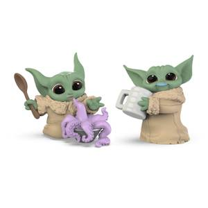 Star Wars The Bounty Collection The Child 2-Pack Tentacle Soup Surprise, Blue Milk Mustache Posed Figures