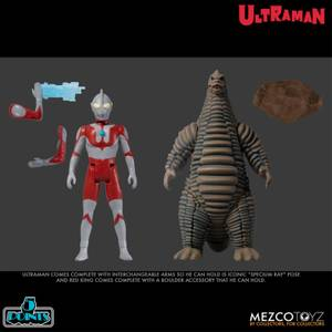 Coffret de figurines Mezco 5 points Ultraman et Red King