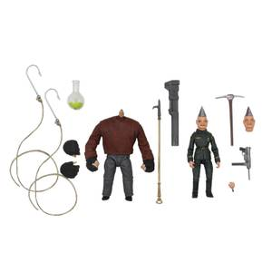 NECA Puppet Master Pinhead and Tunneler Ultimate Action Figure (Pack of 2)