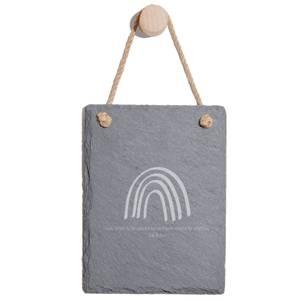 Leave Something For Someone Engraved Slate Memo Board - Portrait