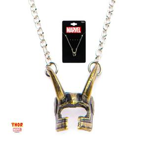 Collar Marvel Casco de Loki