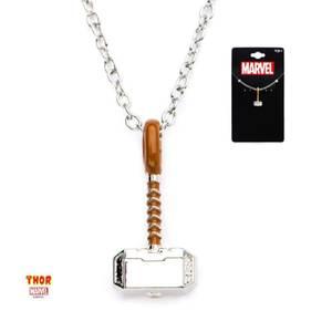 Marvel Collier avec pendentif marteau Thor