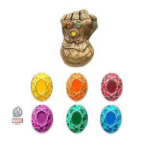 Marvel Avengers Infinity Gauntlet Lapel Pin Set